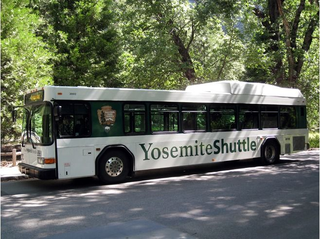 The Yosemite Valley Shuttle System Travel Guide National Park