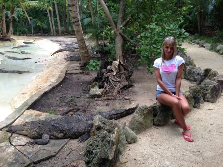 Anastasia Kushnirenko Visit.  Thanks for sharing your experience  #CROCOCUNZOO