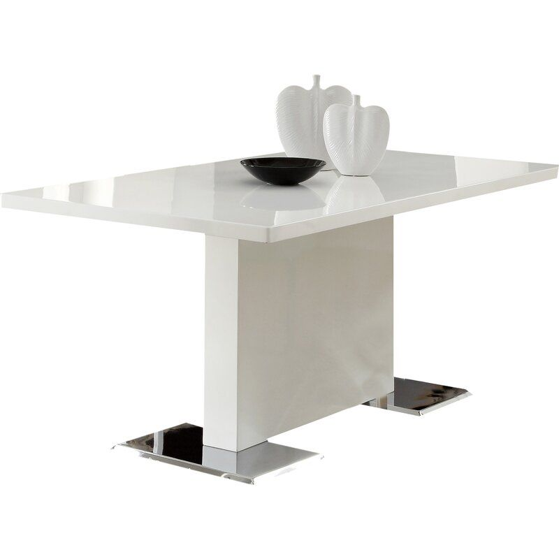 Horwich Dining Table In 2021 Dining Table In Kitchen Modern Glass Dining Table Furniture