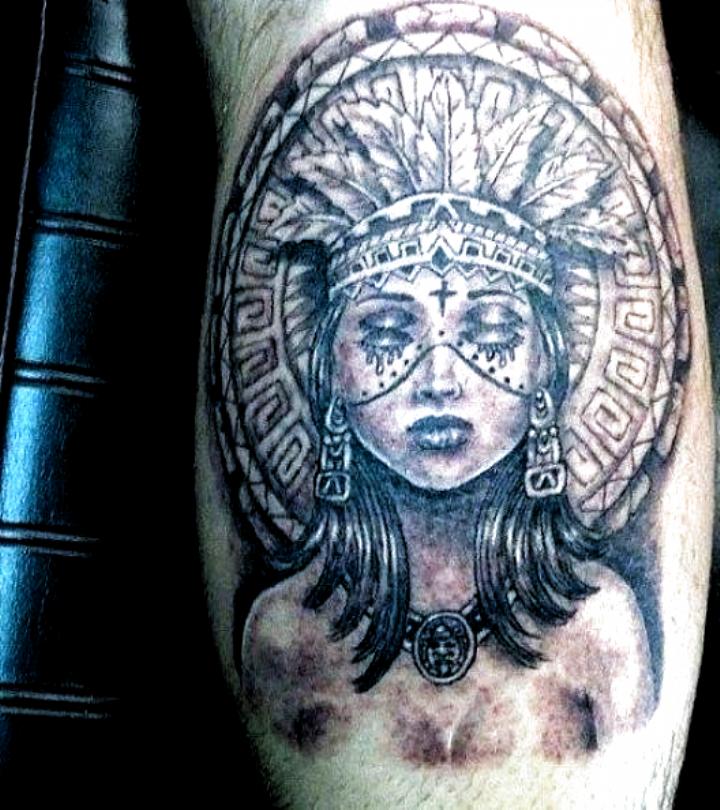 Aztec Female Tattoo For Men Greattattoosforgirls Tattoo Designs In 2020 Aztec Tattoos Aztec Tattoo Designs Aztec Tattoo