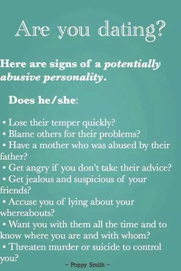 Narcissist signs dating violence 9