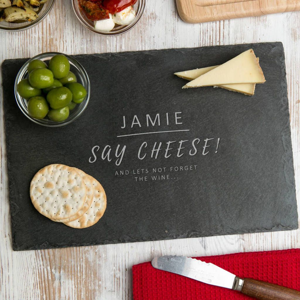 Personalised Funny Slate Cheese Board For Him Slate Cheese Board Cheese Board Christmas Cheese Boards