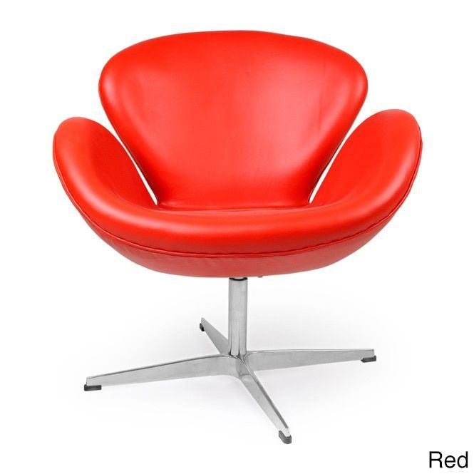 Peachy Kardiel Premium Aniline Leather Trumpeter Chair Red Aniline Pdpeps Interior Chair Design Pdpepsorg