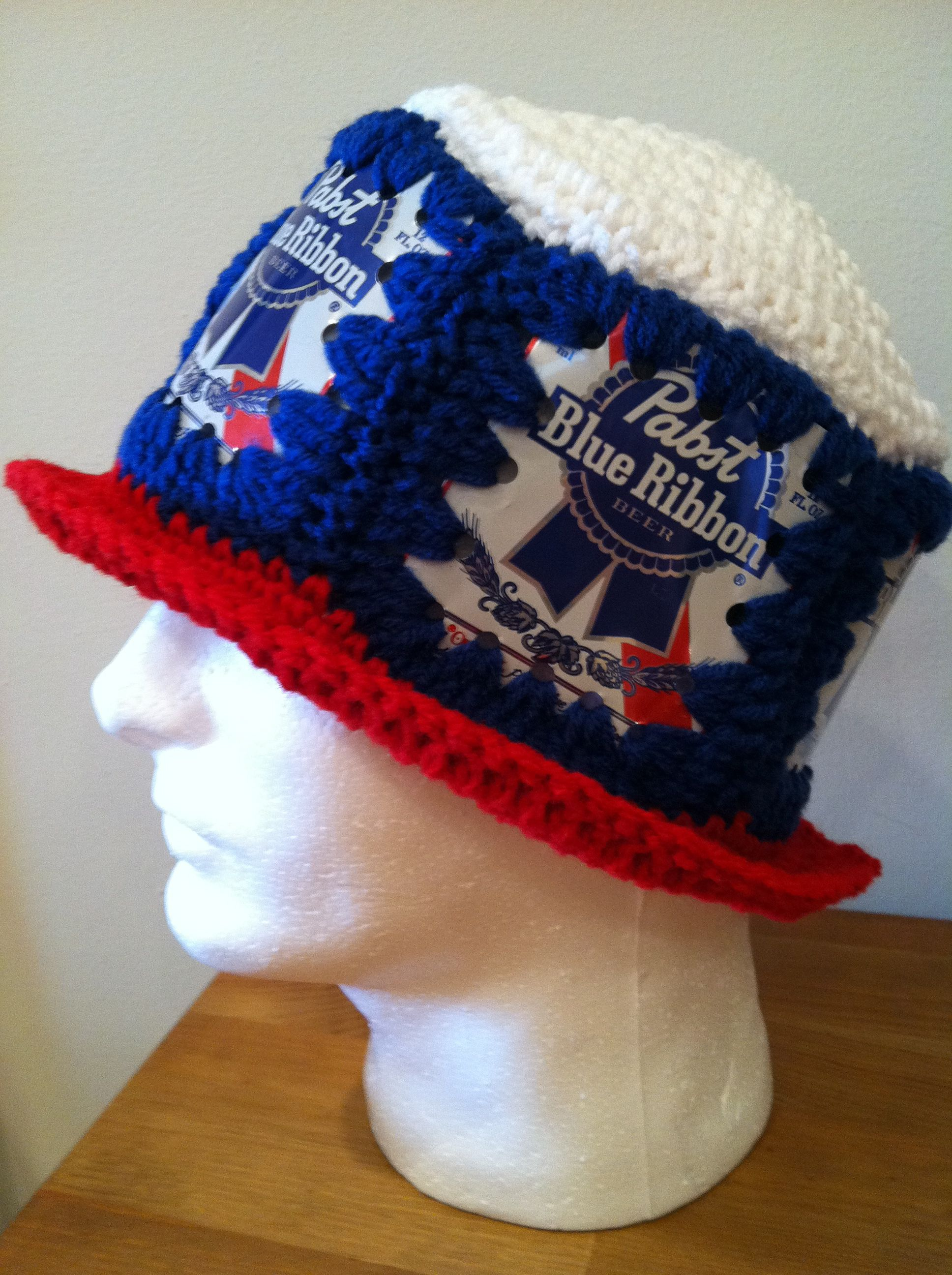 155d149e0bd PBR Beer Can Hat! I think my dad had one of these in the 70s. Lol ...