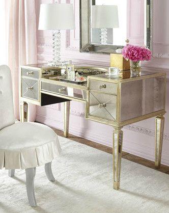Amelie Mirrored Vanity Bedroom Products