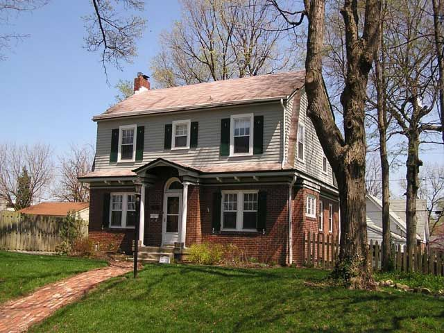 Brick Dutch Colonial Houses Colonial Revival House On Fabulous