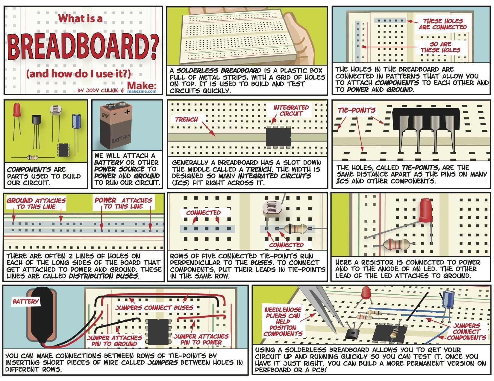 5 Breadboarding Quick Tips Electronics projects diy