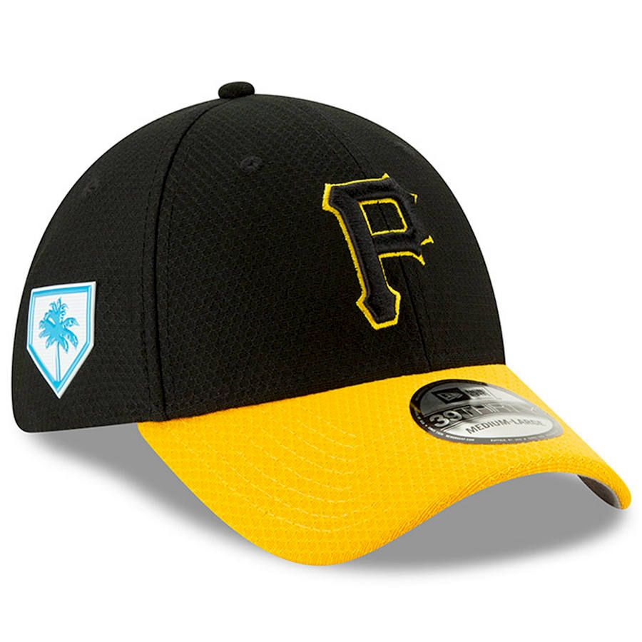 huge selection of 08501 6d53a Men s Pittsburgh Pirates New Era Black 2019 Spring Training 39THIRTY Fitted  Hat,  37.99