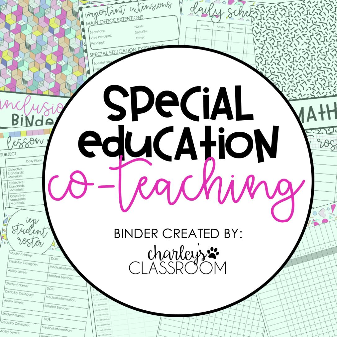 Inclusion Teacher Binder (90s Style)
