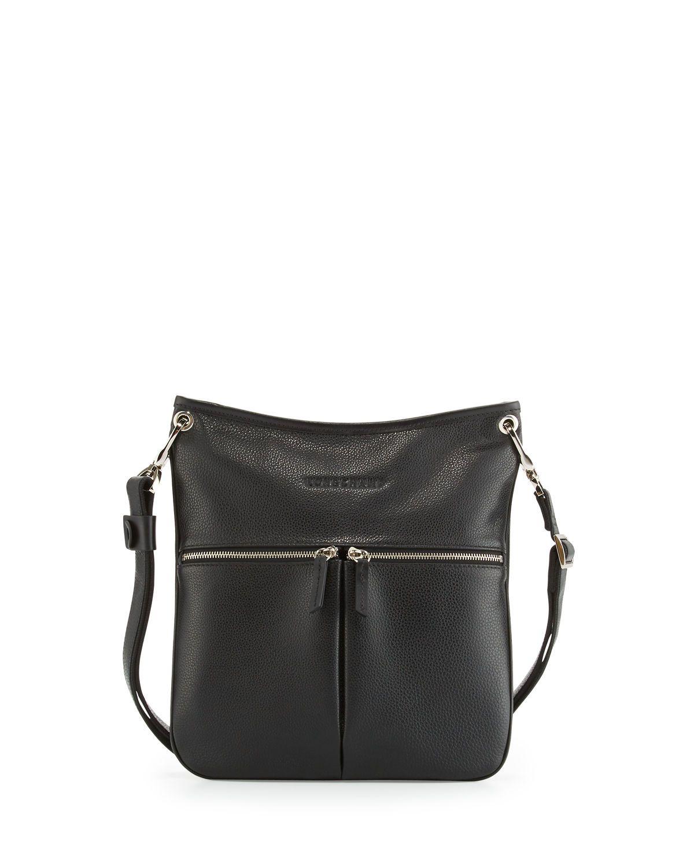 57b536c05a8df2 Longchamp Le Foulonné Flat Crossbody Bag | Neiman Marcus | Attire ...