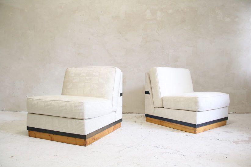 1970`s Seating Elements for Philip Morris Italienische Möbel und