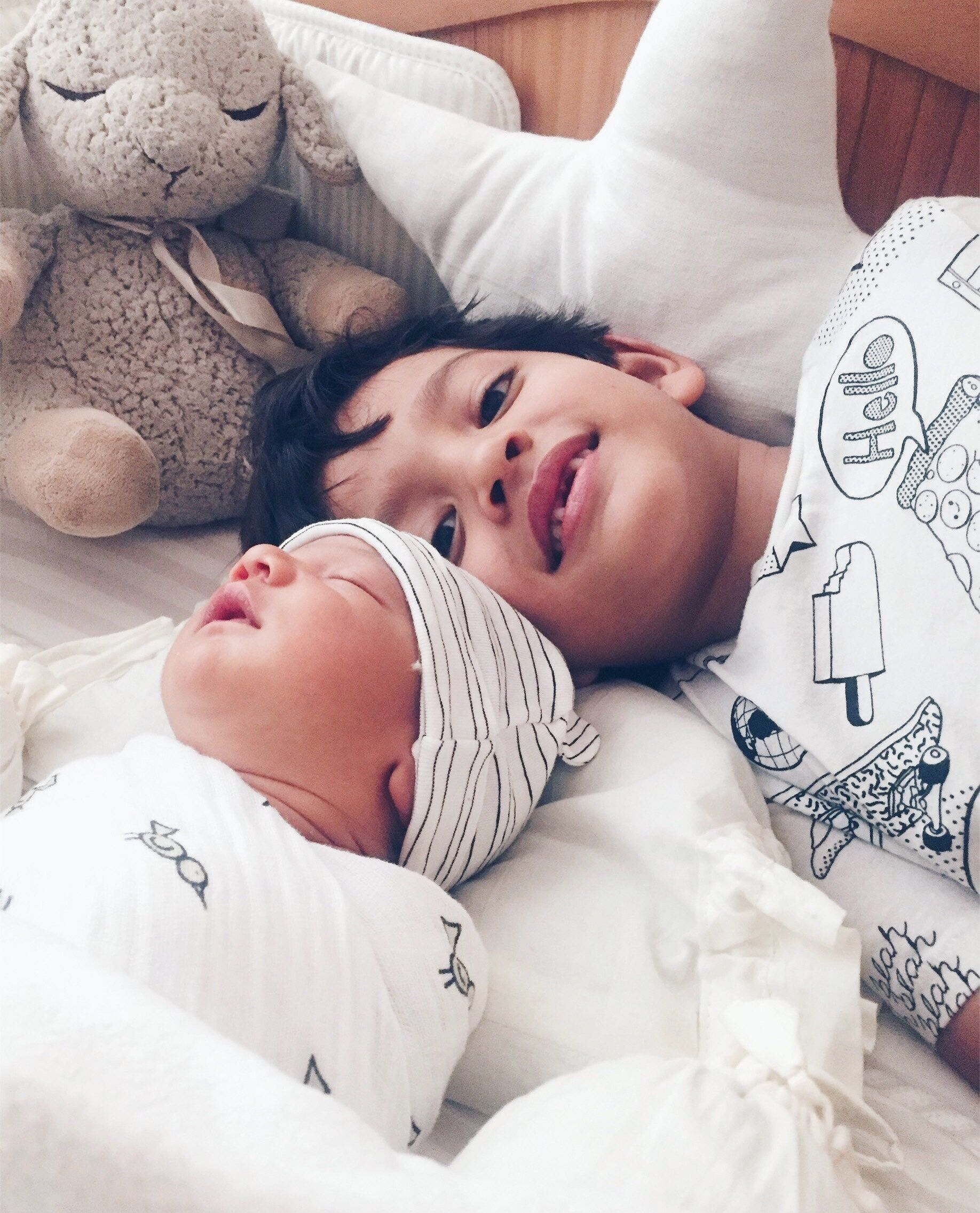 Welcoming New Baby How To Help Big Sibling With The