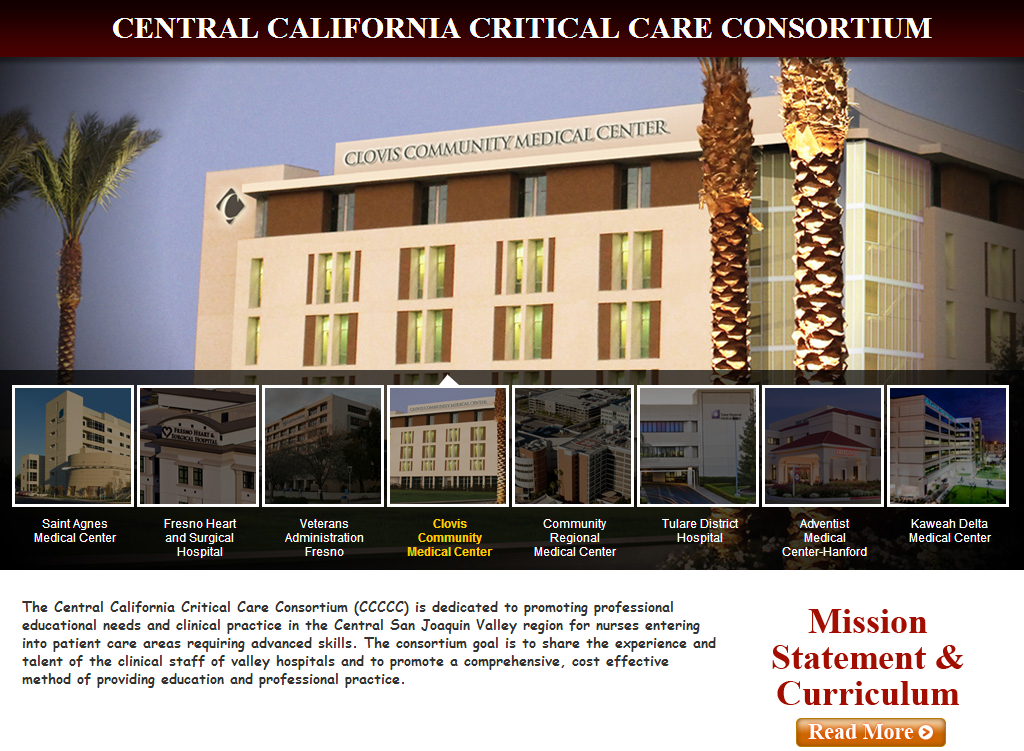 With The Power Of Our Content Management System Central California Critical Care Consortium Is Able To Monitor The Pro Central California Critical Care Hanford