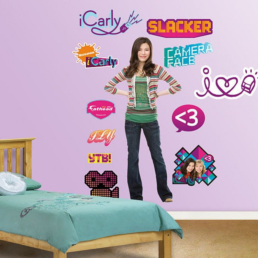 fathead icarly wall graphic icarly pinterest m dchentraum rh pinterest at