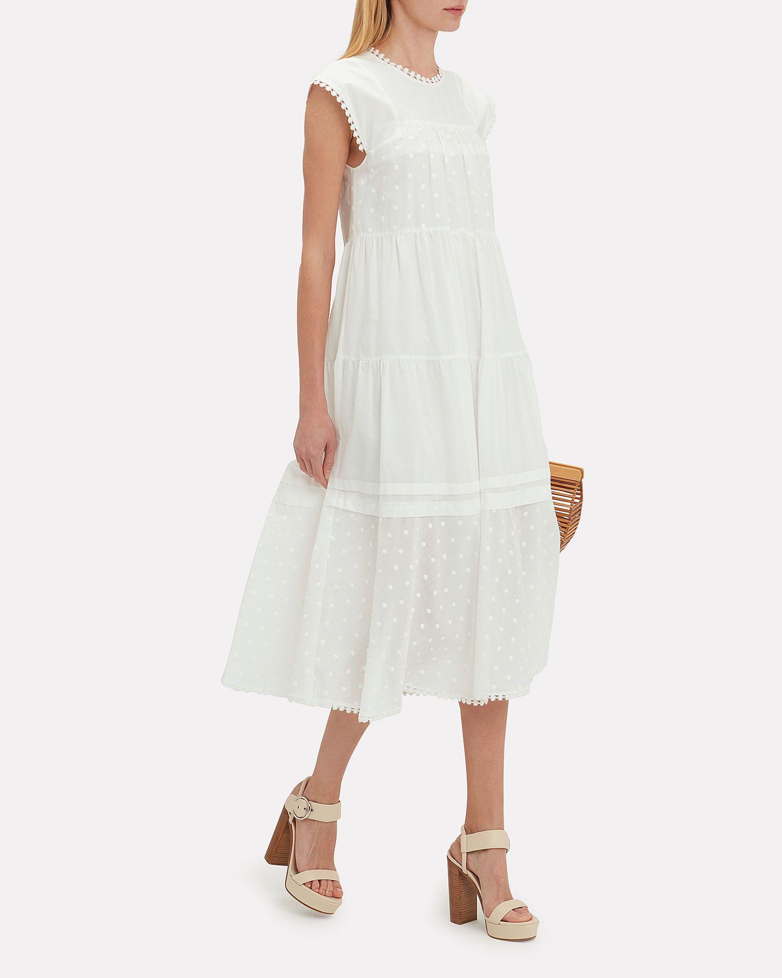 Swiss Dot Cotton Maxi Dress Maxi Dress Cotton Cotton Maxi Maxi Dress [ 2000 x 1600 Pixel ]