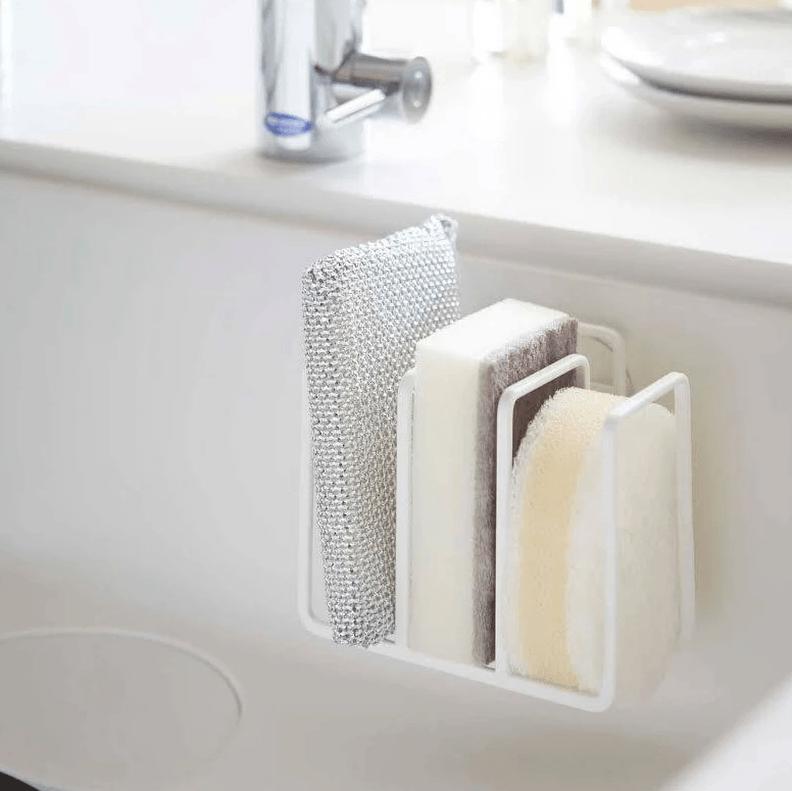 5 Favorites In Sink Sponge Holders Non Plastic Edition Kitchen Sponge Holder Sponge Holder Kitchen Sponge