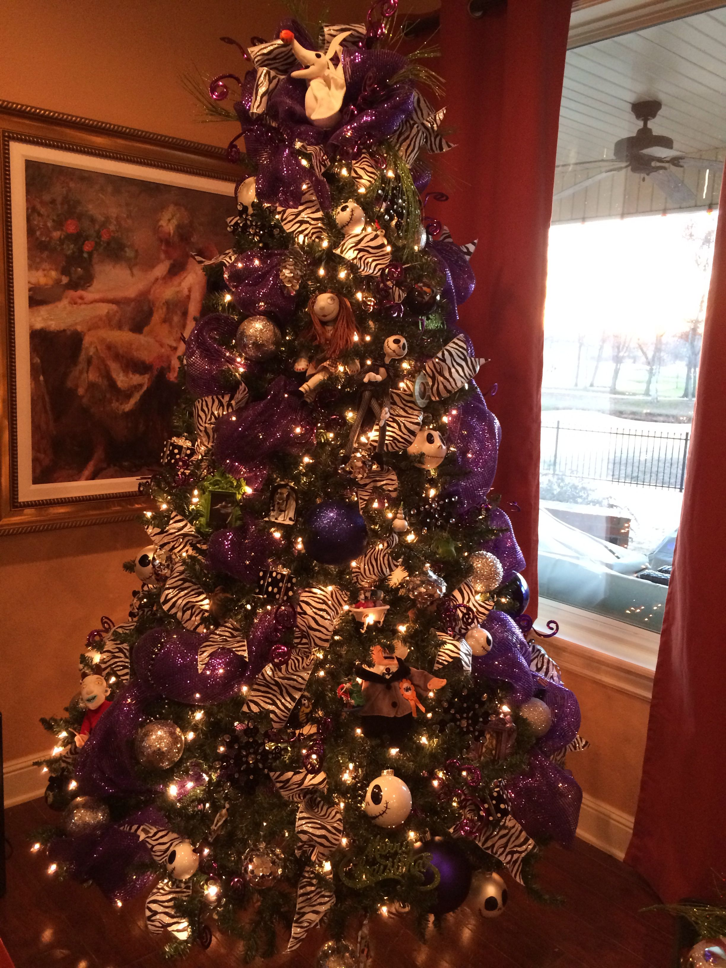 Our nightmare before Christmas tree! | Christmas | Pinterest ...