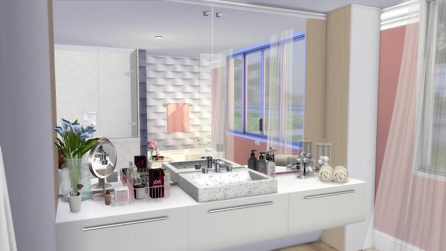 Sims 4 Luxury Bathroom Ii Download Cc Creators List Luxury Bathroom Bathroom Decor Sims 4
