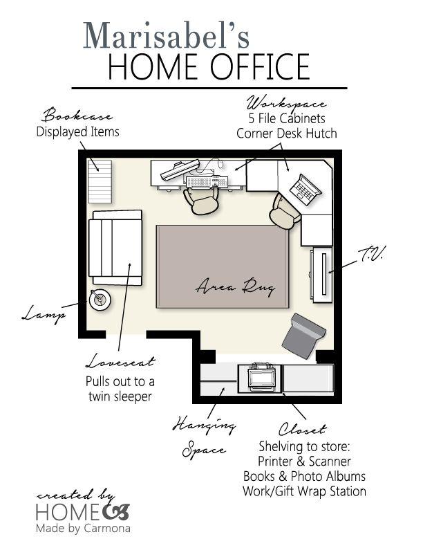 A Design Plan For An Office Office Floor Plan Floor Plan Design