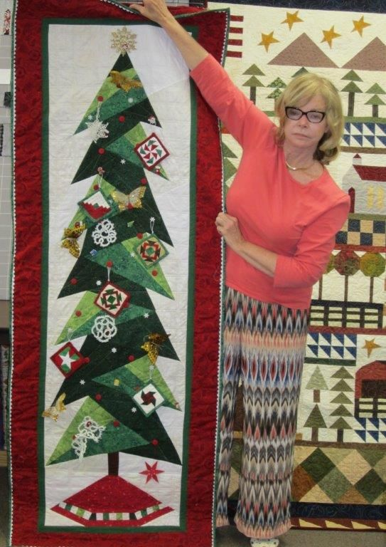 Sandy Made This Tall Trim The Tree We Have Patterns In