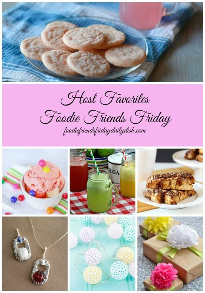 This and that: Foodie Friends Friday Linky Party #147
