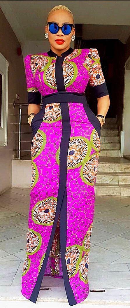 Latest Ankara Long Gown Styles 2018 | Clothes-patterns | Pinterest ...
