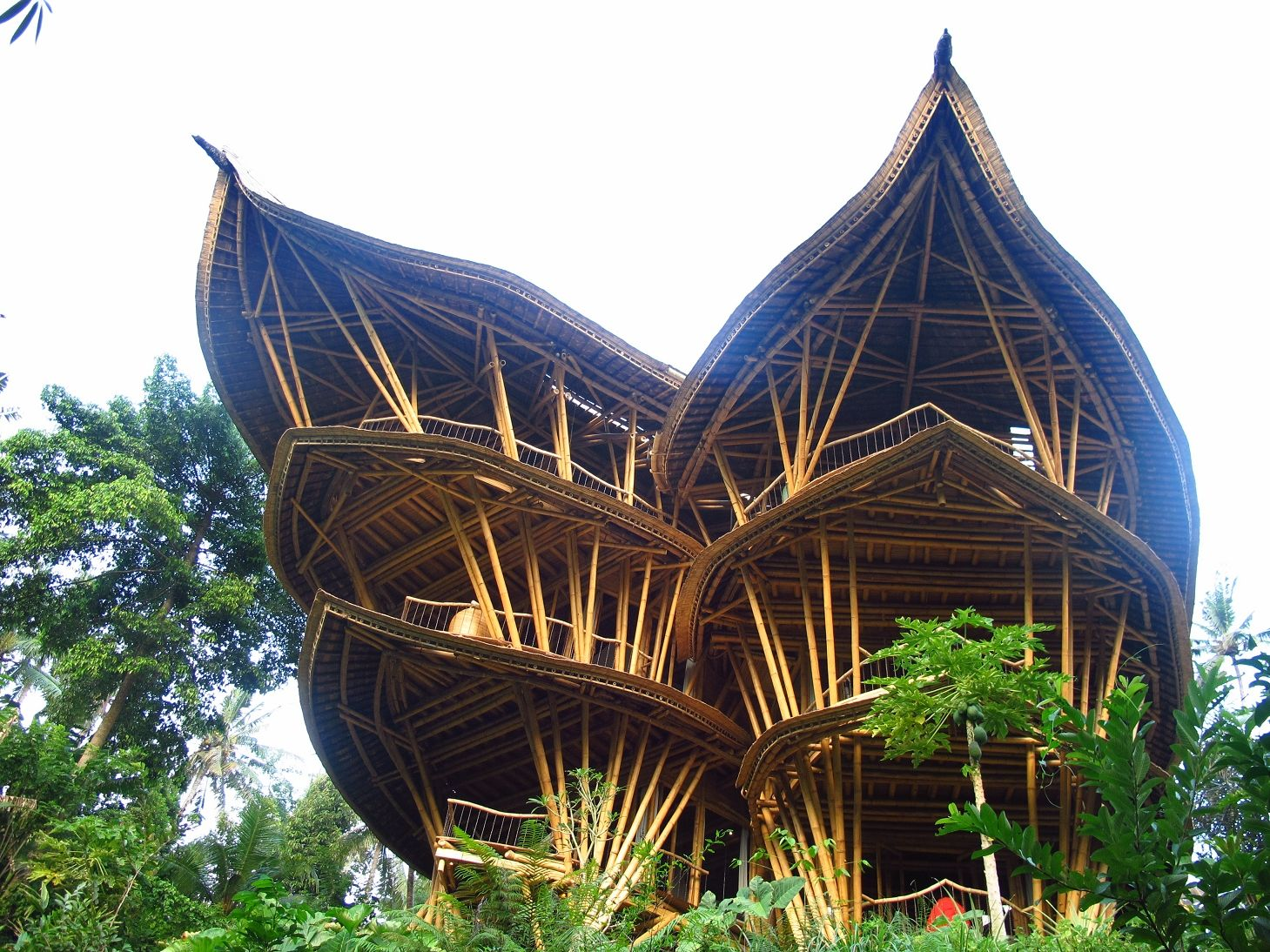 Visit Bali\'s architectural feat - the world famous private Bamboo ...