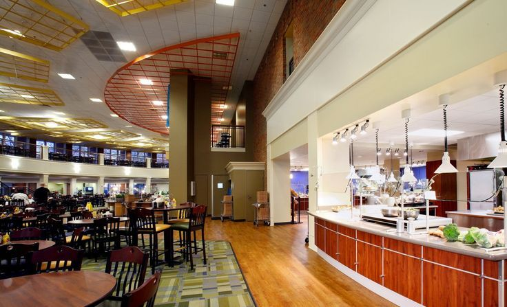 Furmans daniel dining hall higher education