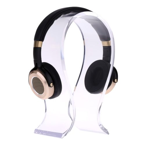 Acrylic U-shape Earphone Holder Headset Stand Headphone Rack