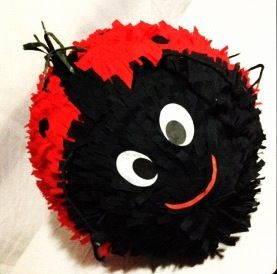 Ladybug Piñata