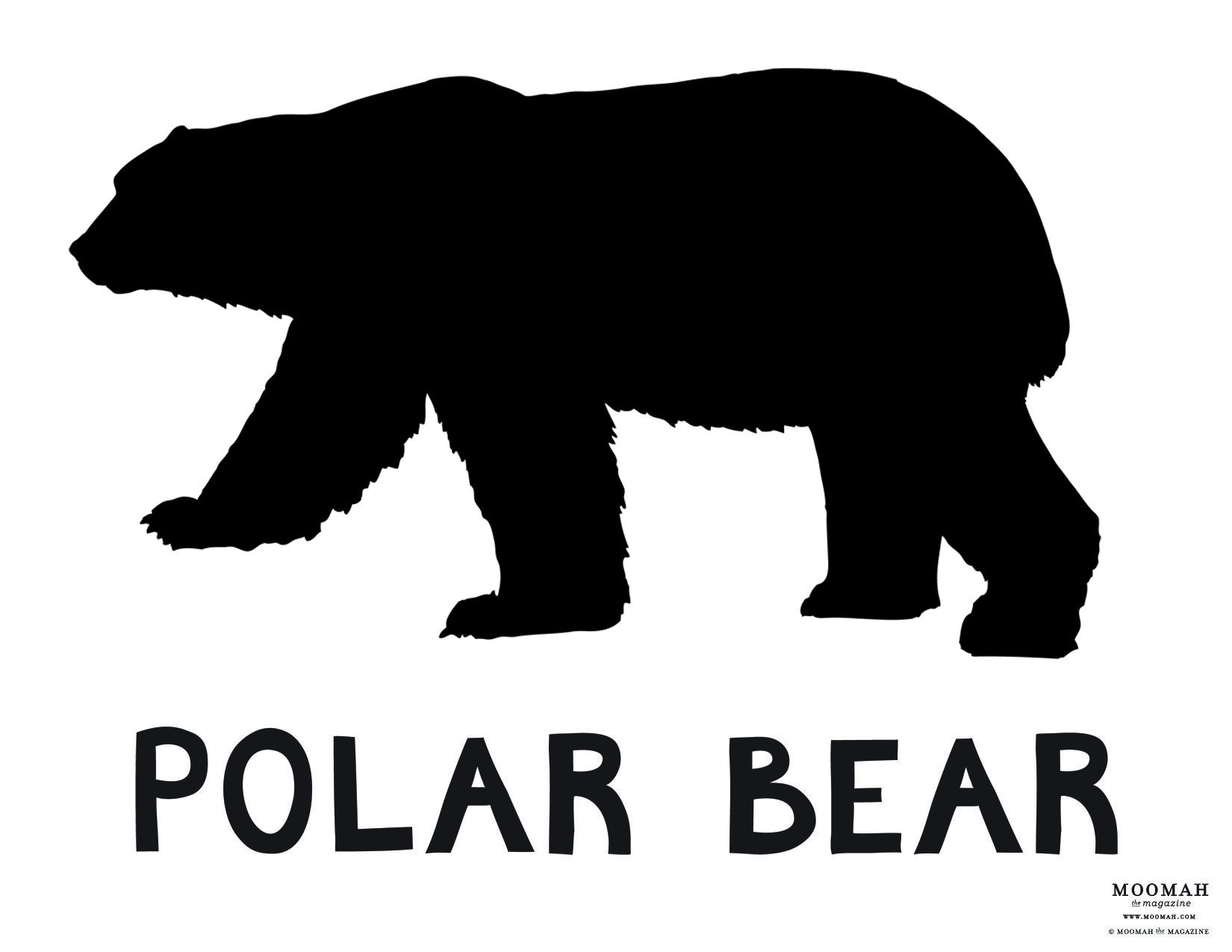polar bear silhouette  google search  tattoos  pinterest  bear  - polar bear silhouette  google search