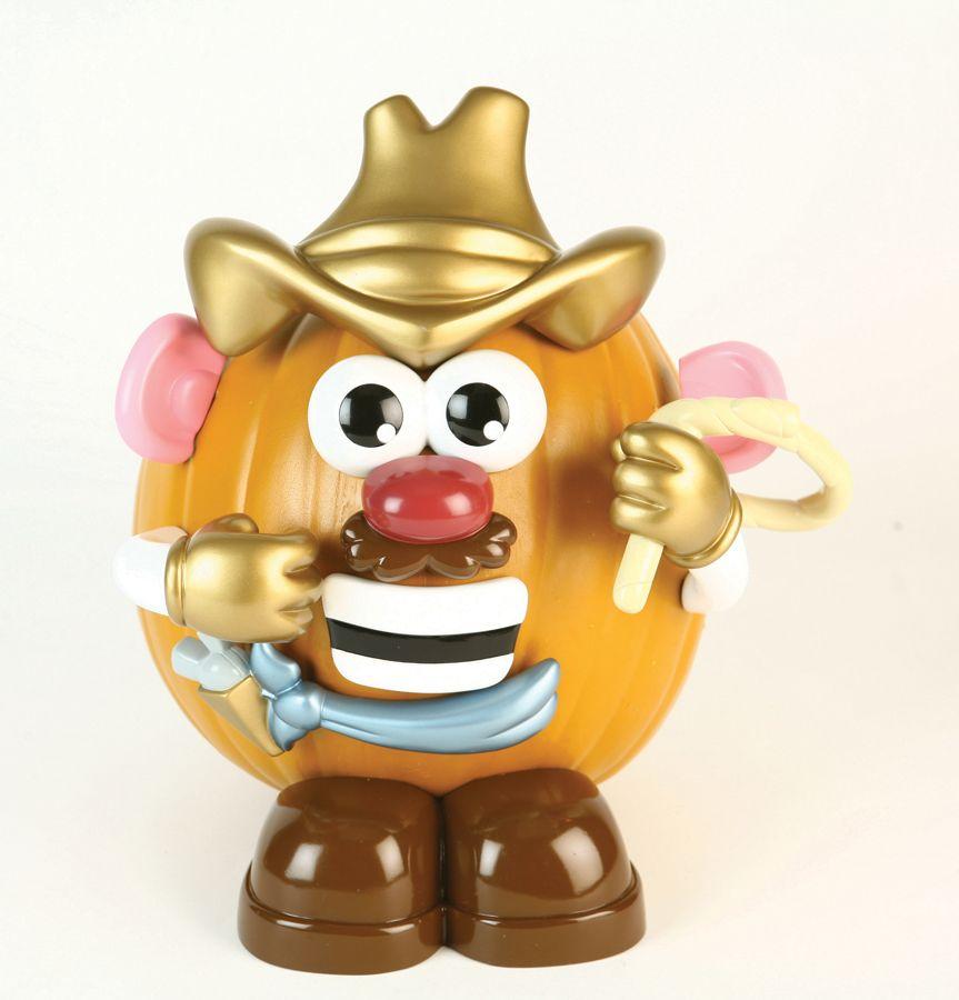 Pumpkin Kit: Mr Potato Head Cowboy Push-In Decoration Set