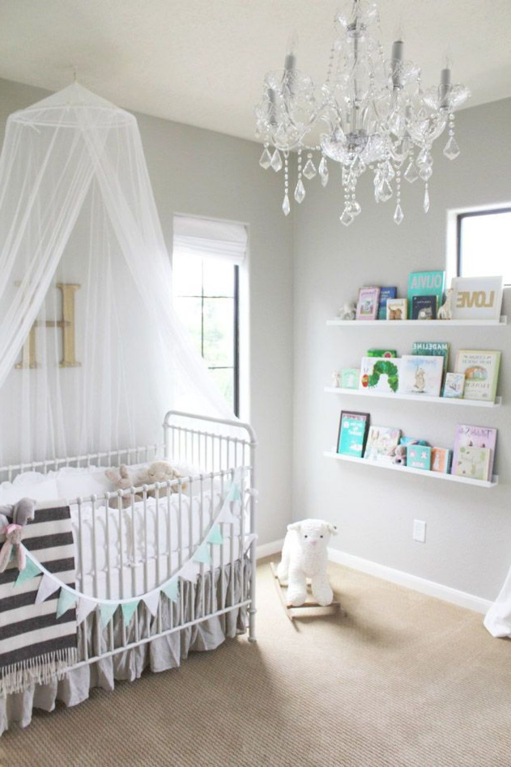 Tolle Getting Ba Nursery Room Chandeliers Home Interior Decoration