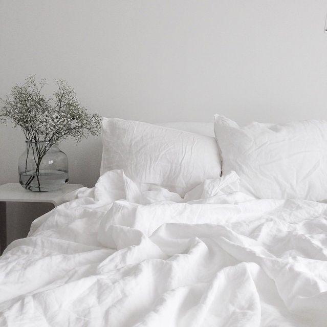 Good Crisp White Bed Linen.