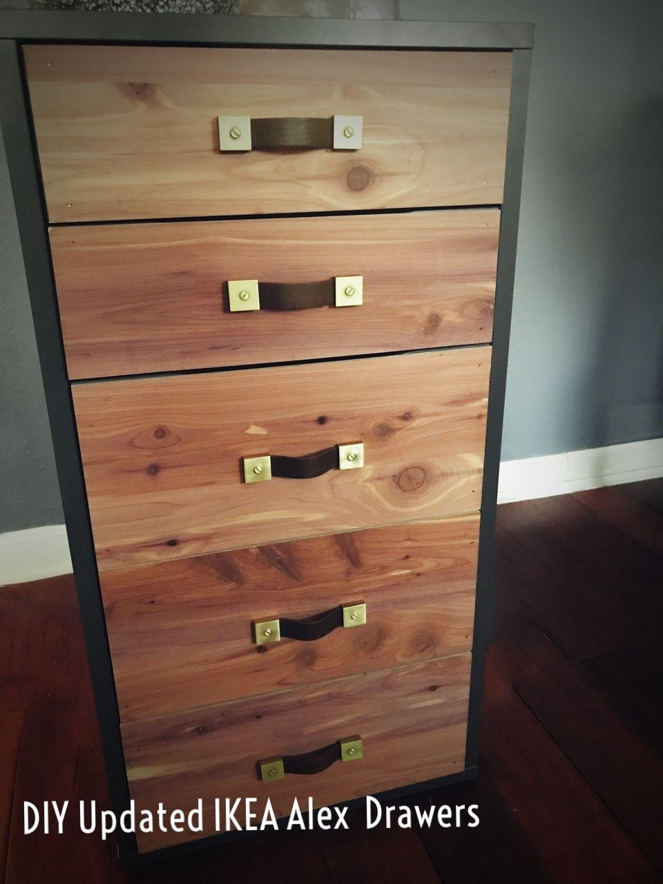 DIY IKEA Hack: IKEA Alex Drawers, flat file drawers, map drawers