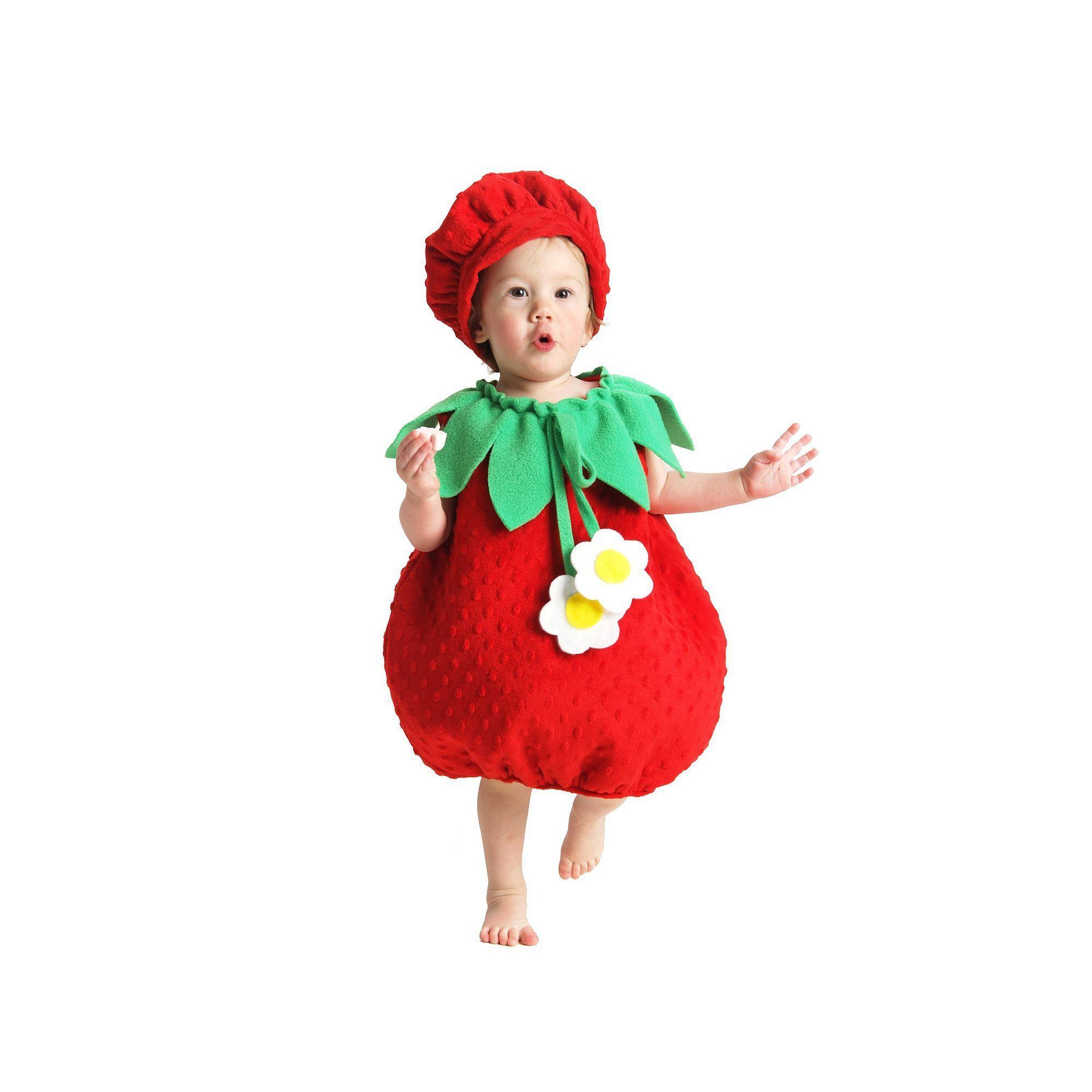 strawberry costume toddler kids unisex size 2t multicolor products pinterest. Black Bedroom Furniture Sets. Home Design Ideas