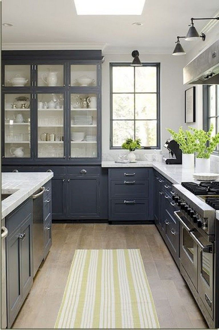 65+ Beautiful Modern Farmhouse Kitchen Makeover Decor