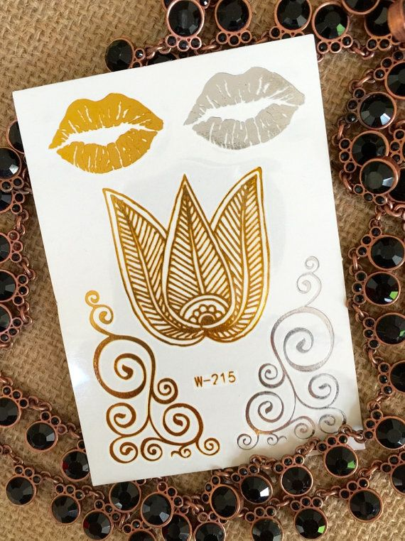 Tribal Flower Lip Flash Tattoo by UniqueUFinds | Flash ...