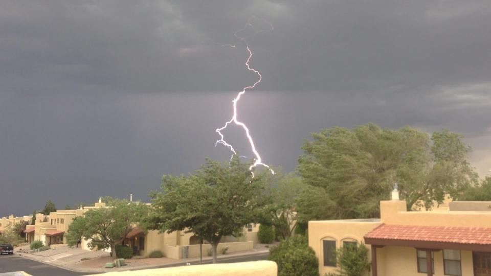 Lightning in New Mexico