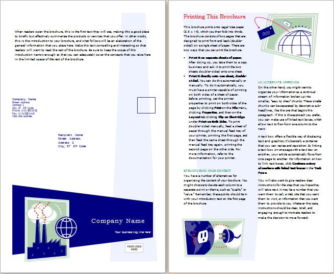 Marketing Brochure Template Download At HttpWwwDoxhubOrg