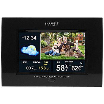 La Crosse Technology® Wireless Pro Center w/ Photo Album ShopNBC.com