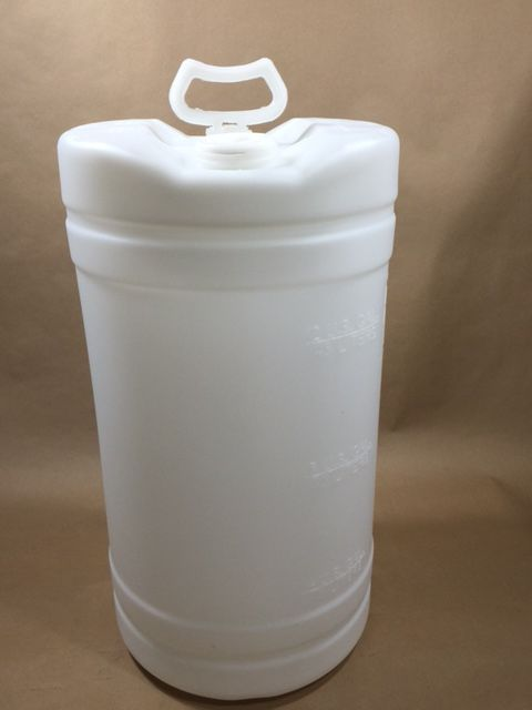 15 Gallon Plastic Tight Head Natural Hmw Hdpe Drum Yankee Containers Drums Pails Cans Bottles Jars Jugs And Boxes Plastic Drums Drums Gallon