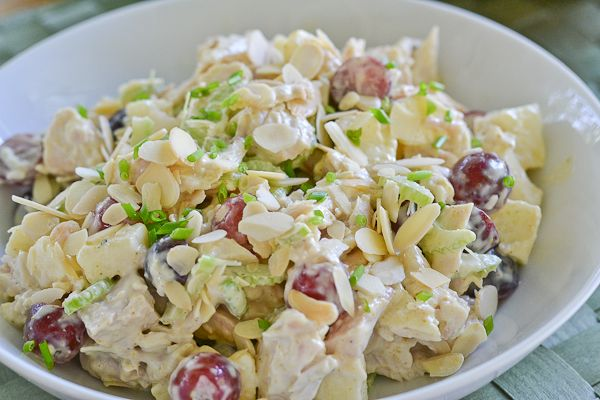 Chicken Salad Recipe Grapes And Apples