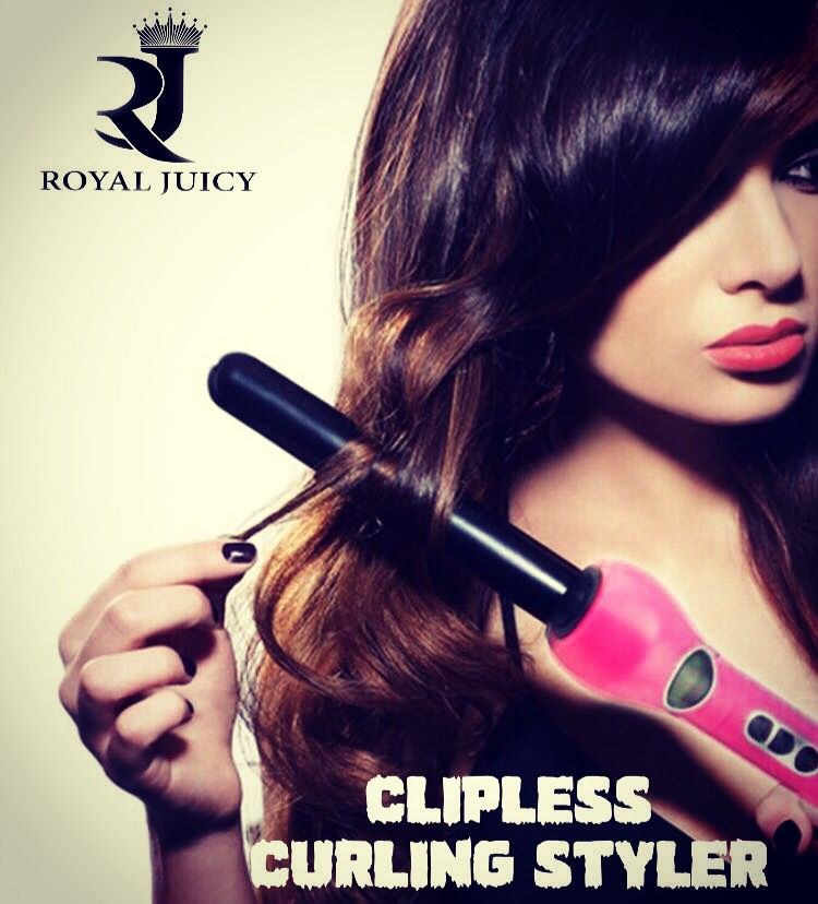 فير رويال جوسي بدون ملقط مقاس 25 مم ستمنحك هذة المكواة شعرا جميلا وجذابا مع لفات كبيرة وخفيفة تناسب الاستخدام اليومي كما ت Curled Hairstyles Hair Curls