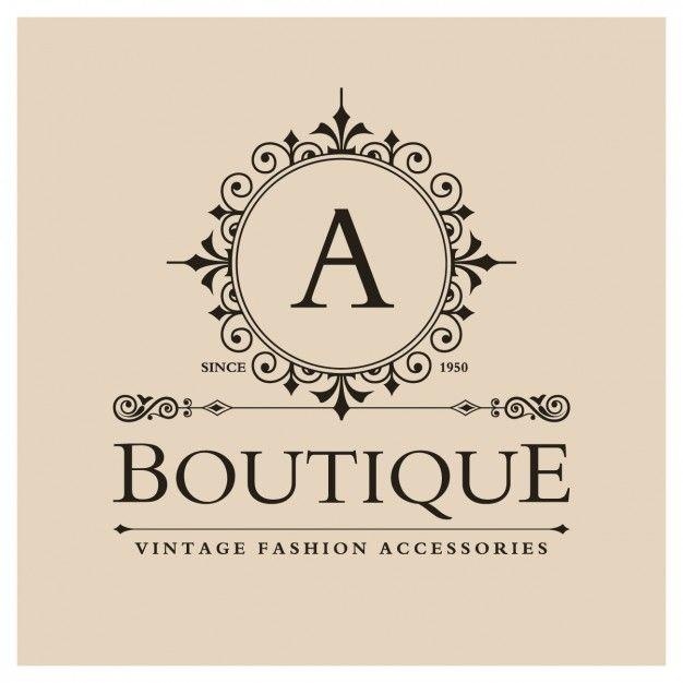 Baixe Logo Boutique Vintage Gratuitamente Boutique Logo Vintage Boutique Vintage Logo