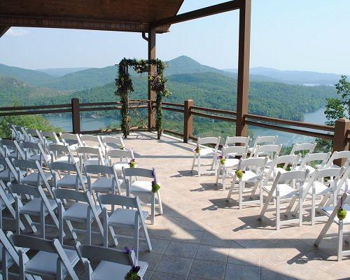 Waterfall Club Wedding Venue In Clayton Georgia With Breaktaking Views Of The North