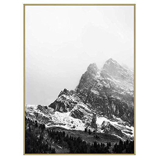 Amazon Com Frame It Easy 28 X 38 Satin Black Metal Frame Profile 93 Black Metal Frame Black Picture Frames Picture Frame Wall