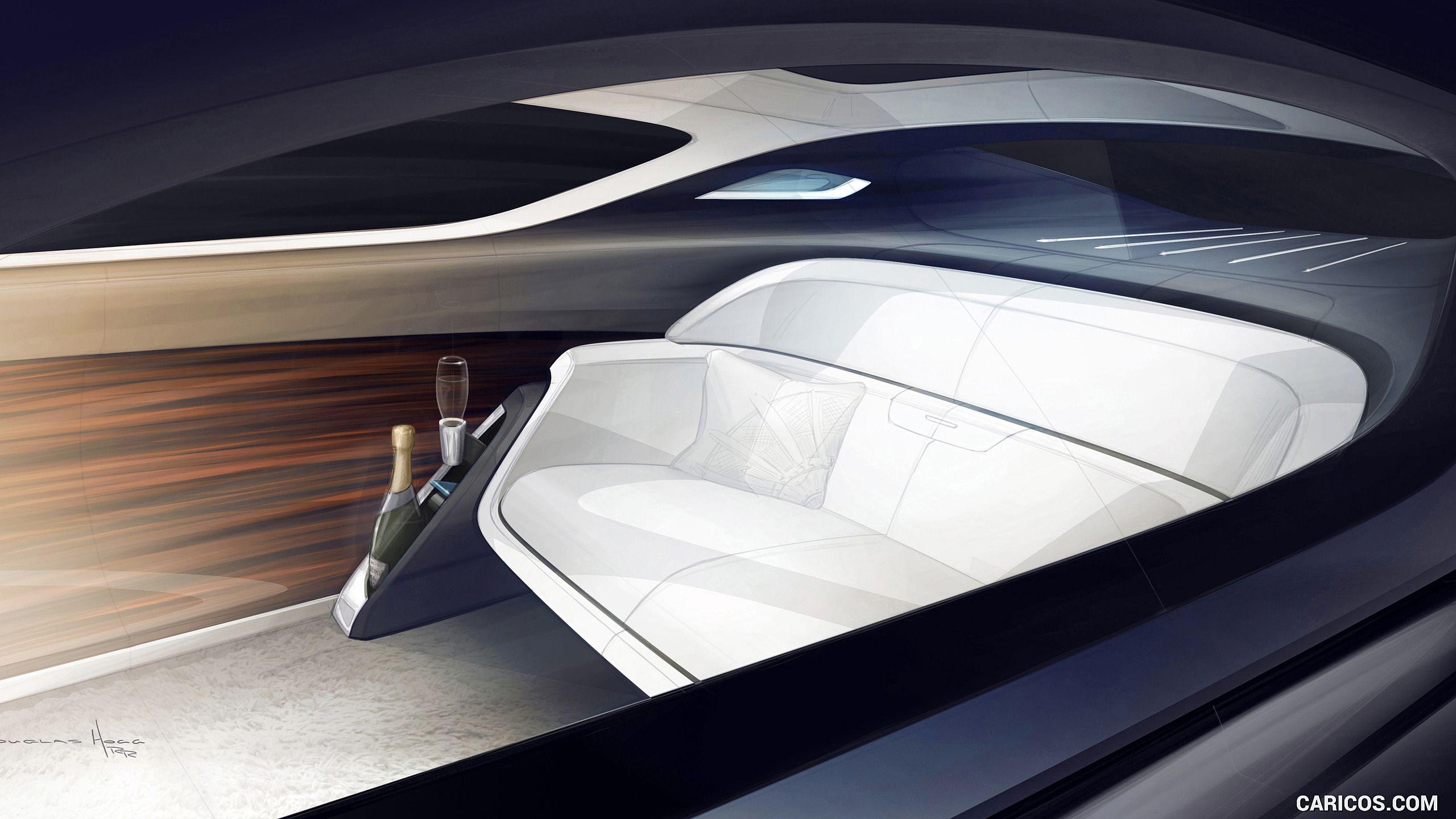 2016 Rolls Royce 103ex Vision Next 100 Concept Wallpaper Interior