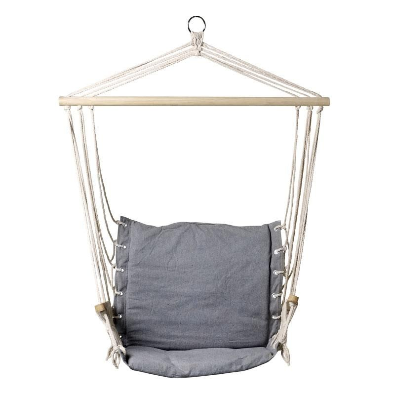 Fantastic grey canvas hammock chair, find a quiet spot in the ...