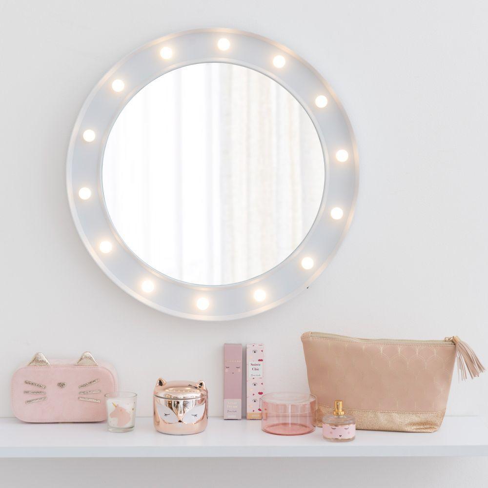 Aufbewahrung Schmuckschachtel, Led spiegel und Dekoration